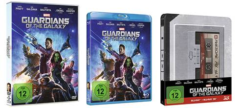 guardians of the galaxy - Guardians Of The Galaxy auf blu-ray und DVD