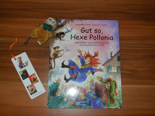 beendet – Rezension und Gewinnspiel – Gut so Hexe Pollonia