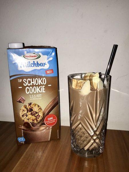 hochwald milchbar Schoko Cookie und Schoko Kokos im Test 2 450x600 - Testaktion: hochwald milchbar Schoko Cookie und Schoko Kokos