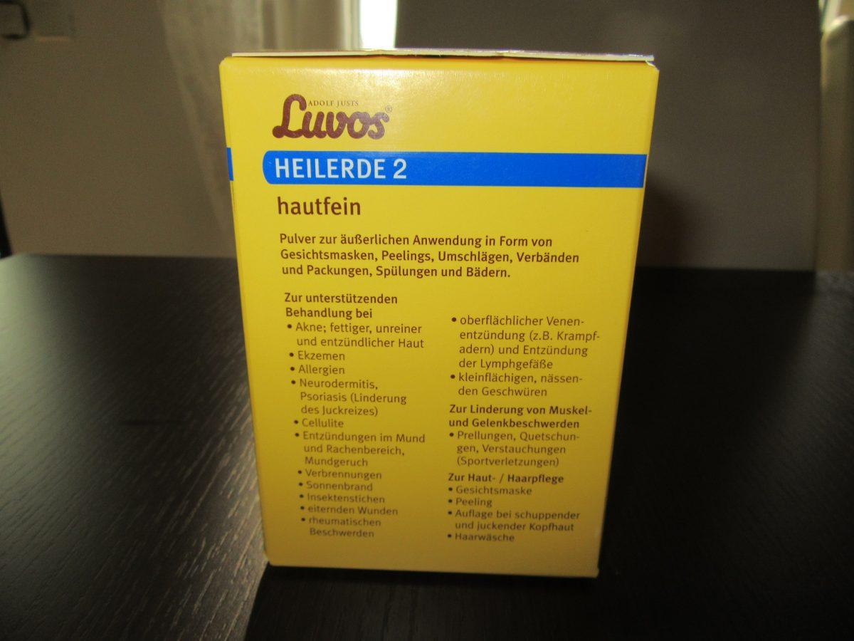 Produkttest: Luvos Heilerde 2