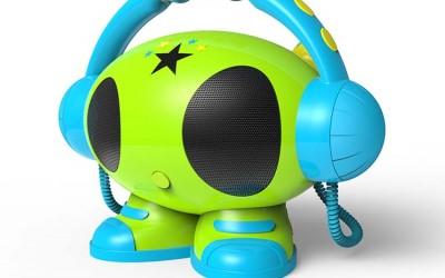 inlay ROBOT01 01 400x250 - Produkttest: MP3 Karaoke Roboter von bigben