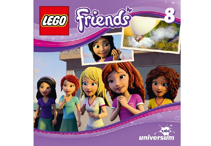 k 2D Packshot LEGO Friends CD8 Kopie - Gewinnspiel: Lego Friends CD8
