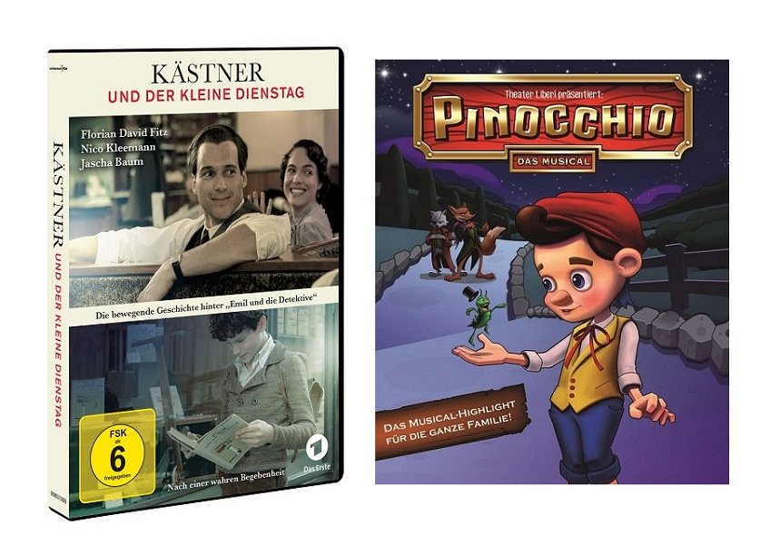 """Adventskalender Tür 17: Pinocchio – das Musical und """"Kästner und der kleine Dienstag"""""""
