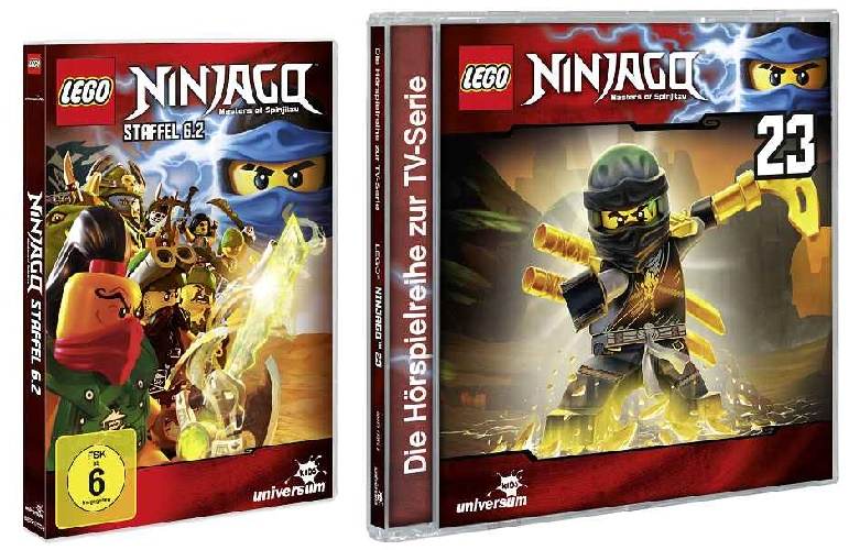 k 3D Packshot 88875175739 LEGO Ninjago DVD 6 2 Kopie - Gewinnspiel: LEGO® NINJAGO 6.2