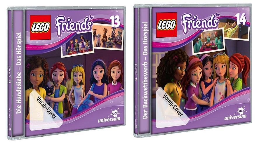 Rezension: Lego Friends Hörbücher Folge 13 & 14