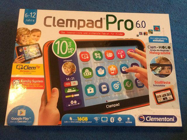 k Clementoni Clempad 6.0 PRO Test 1 - Produkttest: Clementoni Clempad 6.0 PRO