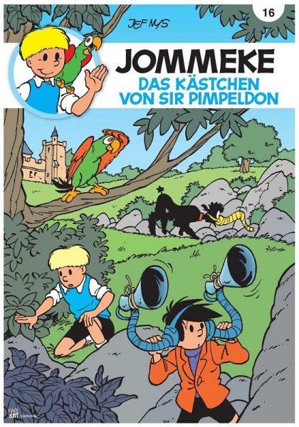 k Cover Jommeke 016 420x600 - Gewinnspiel: Jommeke Kennenlernpaket