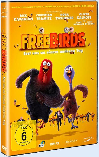 Gewinnspiel – Free Birds Esst uns an einem anderen Tag