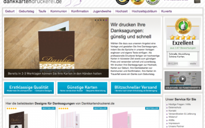 k Dankkartendruckerei.de 2 400x250 - Shopvorstellung - Dankkartendruckerei.de
