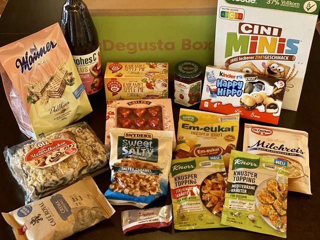Produkttest: Degusta Box Oktober 2020