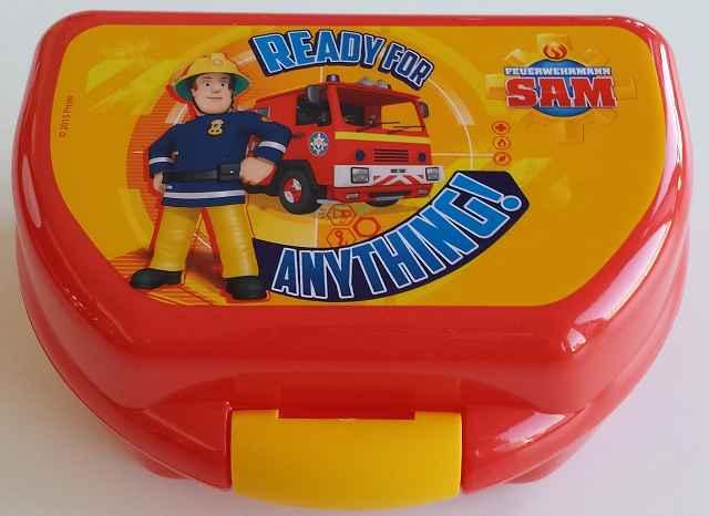 k FEUERWEHRMANN SAM Brotdose - Gewinnspiel: Feuerwehrmann Sam