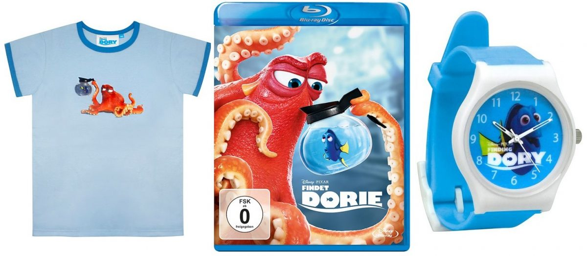 Gewinnspiel: FINDET DORIE auf DVD und blu-ray