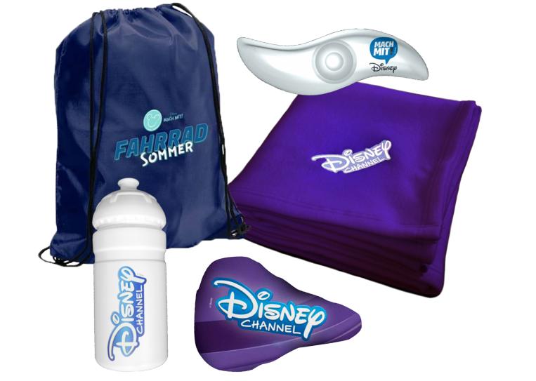 Gewinnspiel: Disney Mach mit! – Fahrrad Sommer