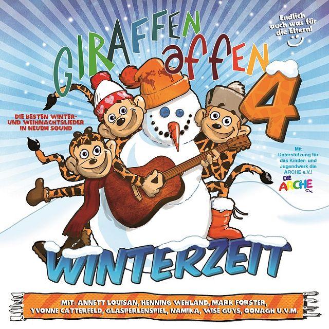 Gewinnspiel: CD Giraffenaffen 4 Winterzeit