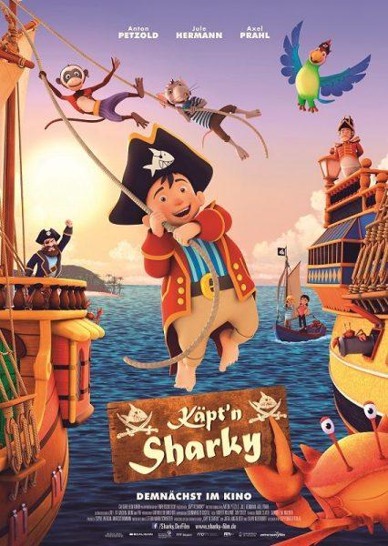 k Käptn Sharky Poster A1 426x600 - Gewinnspiel: KÄPT'N SHARKY Kinofilm
