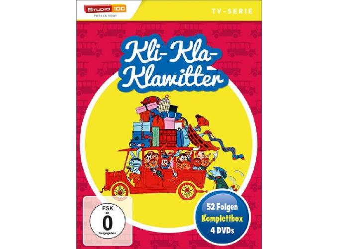 Gewinnspiel: Kli-Kla-Klawitter Komplettbox mit 52 Folgen