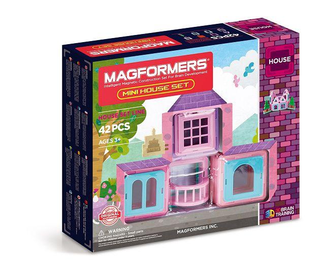 k MAGFORMERS Mini House Set - Oster-Gewinnspiel: MAGFORMERS Mini House Set