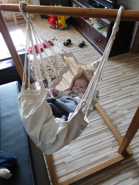 Babyhängematte Test: Yayita mit passendem Ständer