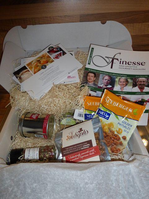Gourmetbox – Die Box für Genießer oder die die es werden wollen