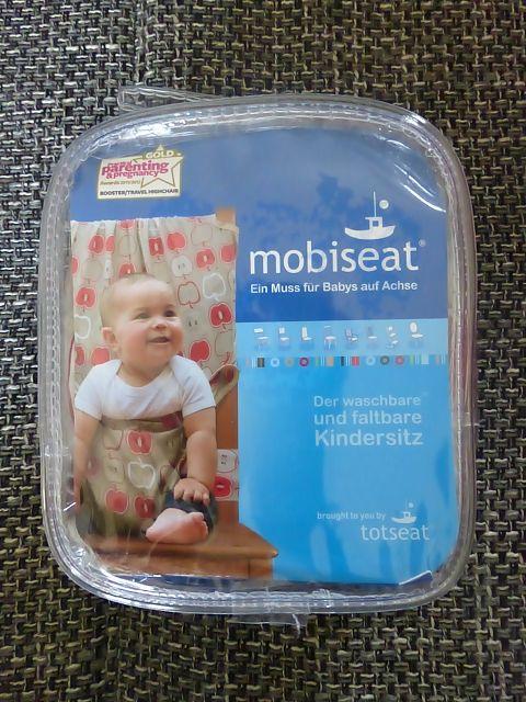 Mobiseat, der faltbare Kindersitz für jede Gelegenheit