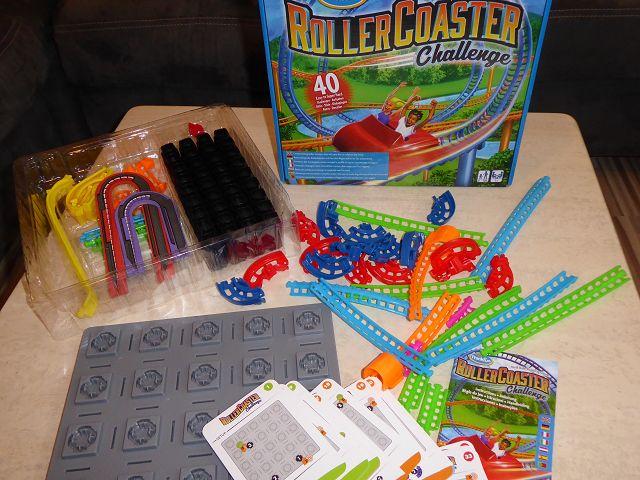 Rezension: Spiel Roller Coaster Challenge von ThinkFun