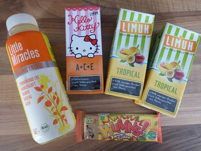 Degustabox August – eine Box für Klein und Groß