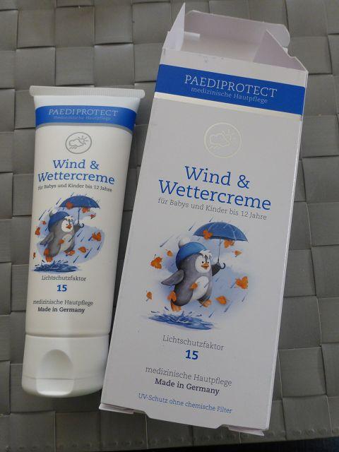 Wind & Wettercreme von PaediProtect
