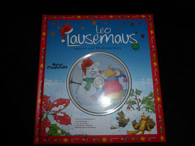 k P1060529 - Leo Lausemaus bringt Weihnachtsstimmung nach Hause