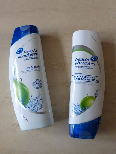 k P1070282 - Head & Shoulders Apple fresh Shampoo und Spülung im Test