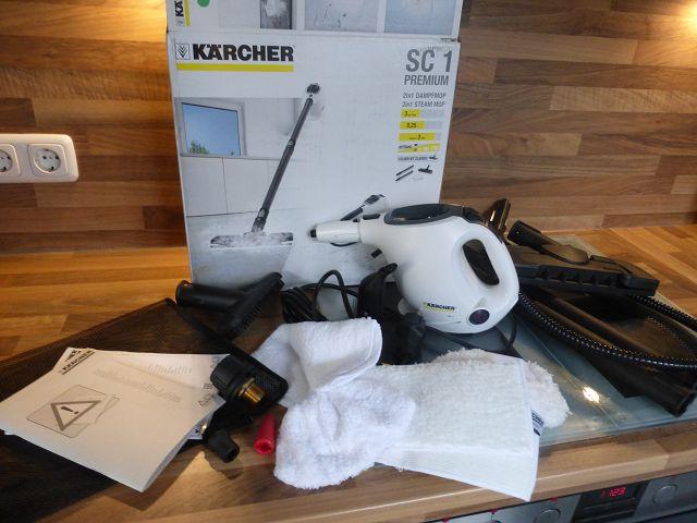 k P1080258 - Gewinnspiel - Kärcher Handdampfreiniger SC 1