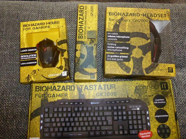 Connect It Biohazard Gaming Combo 4in1 Elite Plus im Test