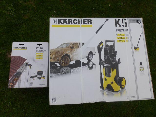Kärcher Hochdruckreiniger K5 Premium Home und alles wird sauber