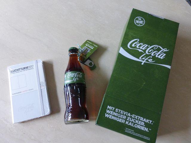 Coca-Cola Life eine neue Sorte im Coca-Cola Regal