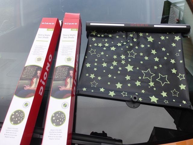 Diono Sonnenblende Starry Night Sunshade