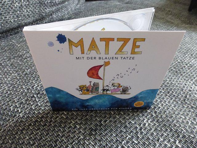 """Jazz CD für Kinder """"Matze mit der blauen Tatze"""""""