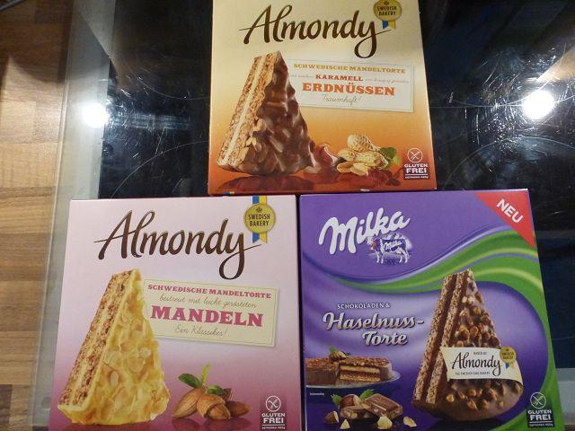 Produkttest: Almondy glutenfrei und lecker