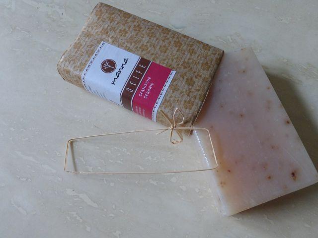 Produkttest: Spanische Geranien Seife von Manna Naturkosmetik