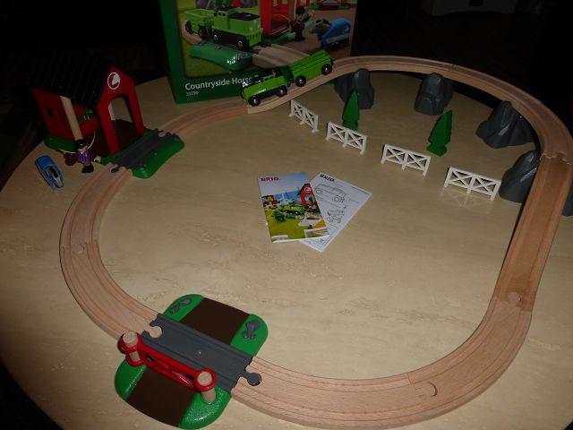 k P1100407 - Produkttest: Brio Pferde Bahn Spiel Set