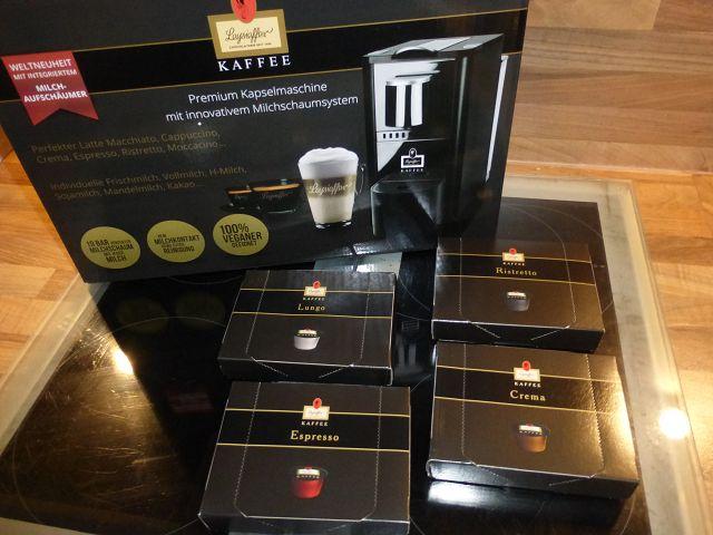Produkttest: Leysieffer-Kaffeekapseln und Kapselmaschine im Test