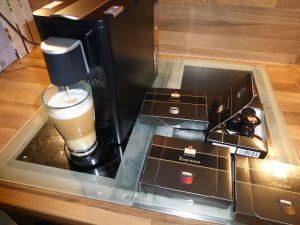 Leysieffer-Kaffeekapseln und Kapselmaschine