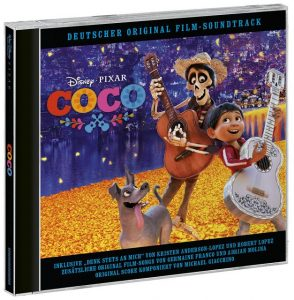 k Packshot 3D Coco LST GE screen 294x300 - Adventskalender Tür 15: Coco Soundtrack und Marvel's Luke Cage DVD