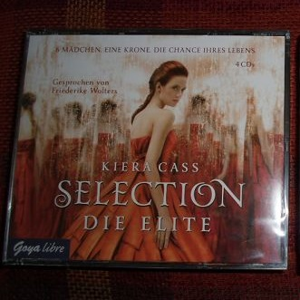 Rezension – Kiera Cass – Selection. Die Elite (Hörbuch)