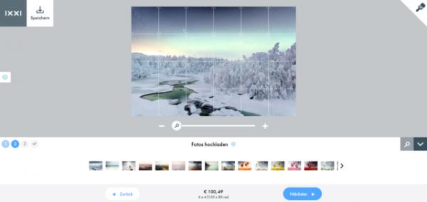 k Screenshot 2019 01 29 IXXI Design Making Module1 600x284 - Produkttest & Gewinnspiel: IXXI Wandbild Northern Lights