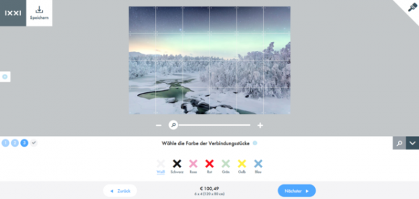 k Screenshot 2019 01 29 IXXI Design Making Module2 600x285 - Produkttest & Gewinnspiel: IXXI Wandbild Northern Lights