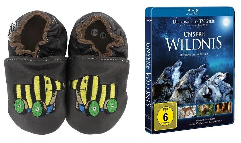 k baby hobea krabbelschuhe tigerente braun - Adventskalender Tür 14: Lederpuschen von hobea.de und Blu-ray Unsere Wildnis