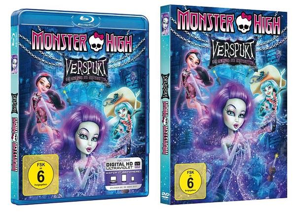Monsterkrasse Preise zum DVD-Start von MONSTER HIGH – VERSPUKT!
