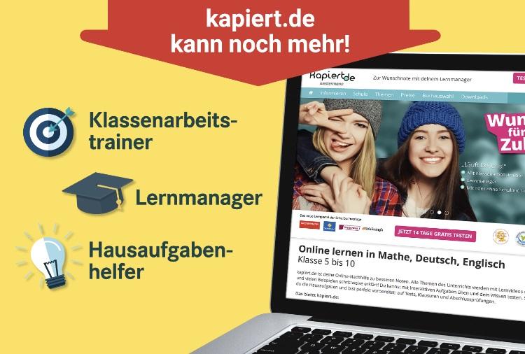 [Anzeige] Gewinnspiel – Bessere Noten mit kapiert.de