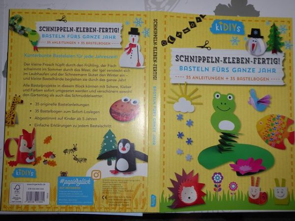kiDIYs Schnippel Kleben Fertig 1 600x450 - Gewinnspiel: kiDIYs Schnippeln-Kleben-Fertig!