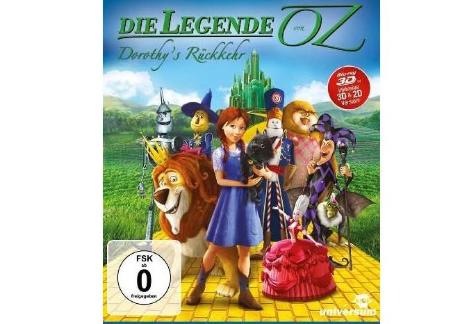Gewinnspiel: Die Legende von OZ – Dorothy's Rückkehr