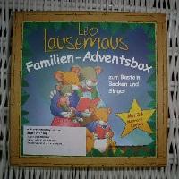 leo lausemaus adventsbox 1 - Leo Lausemaus - Familien-Adventsbox zum Basteln, Backen und Singen
